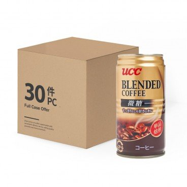 UCC - Blend Coffee Slightly Sweet full Case - 185MLX30