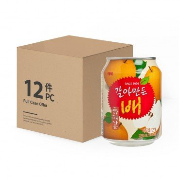 HAITAI - Crushed Pear Juice - 238MLX12
