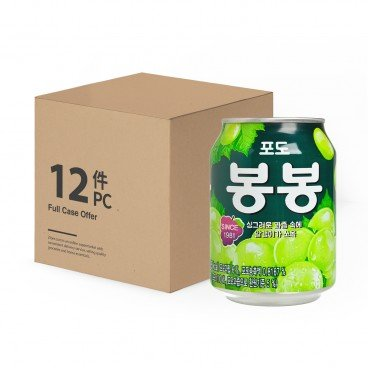 HAITAI - Crushed Grape Juice - 238MLX12