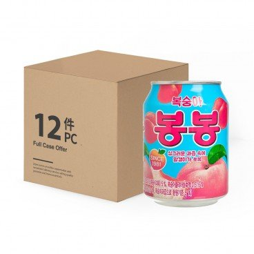 HAITAI - Crushed Peach Juice - 238MLX12