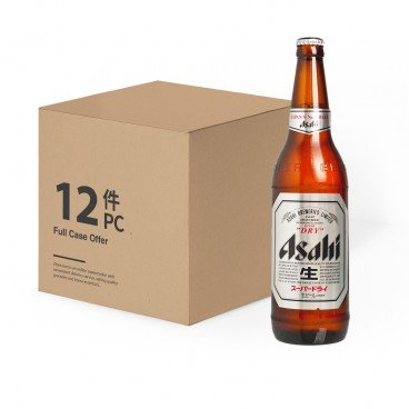 ASAHI - Japanese Beer Bottle case - 633MLX12