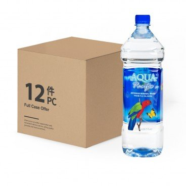AQUA PACIFIC - Natural Mineral Water case Offer - 1.5LX12