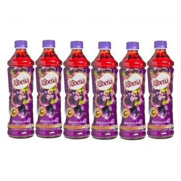 RIBENA - Blackcurrant Drink - 450MLX6