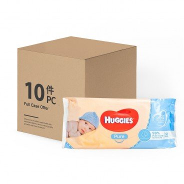 HUGGIES(PARALLEL IMPORT) - Wipes Pure 99 Water case - 56'SX10