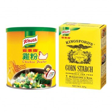 KNORR - Chicken Powder corn Starch - 575G+227G