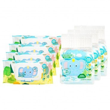 COCOBEBE - Elephant Baby Wet Wipes Set - SET