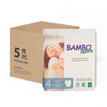 BAMBO NATURE - Rash Free Eco Training Pants M 8 15 Kg Case - 22'SX5