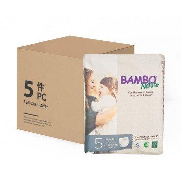 BAMBO NATURE - Rash Free Eco Training Pants L 12 20 Kg Case - 20'SX5