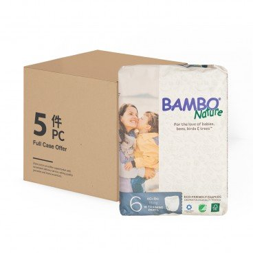 BAMBO NATURE - Rash Free Eco Training Pants Xl 18 Kg Case - 18'SX5