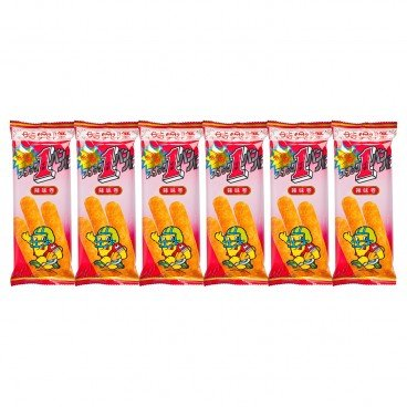 SZE HING LOONG - Chilli Corn Roll - 15G X 6