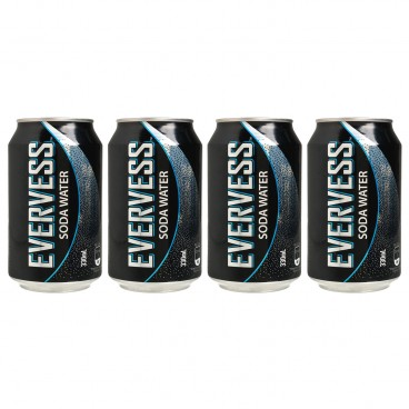 EVERVESS - Soda Water - 330MLX4