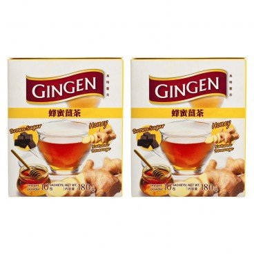 GINGEN - Honey With Instant Ginger - 18GX10X2