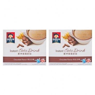 QUAKER - Instant Oats Drink chocolate - 33GX5X2
