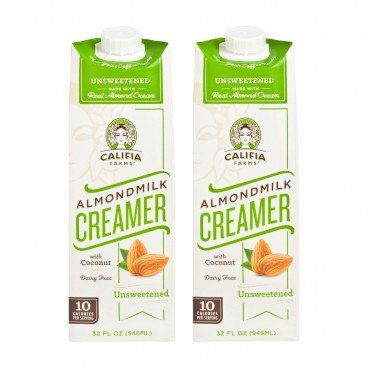 CALIFIA FARMS - Almond Milk Creamer unsweetened - 32OZX2