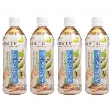 HEALTHWORKS - Sugarcane Sea Coconut Drink - 500MLX4