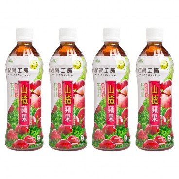 HEALTHWORKS - Hawthorn Apple Juice Drink - 500MLX4