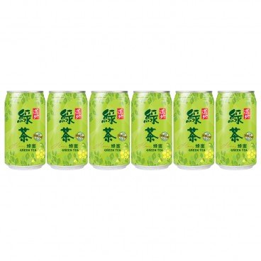 TAO TI - Honey Green Tea can - 340MLX6