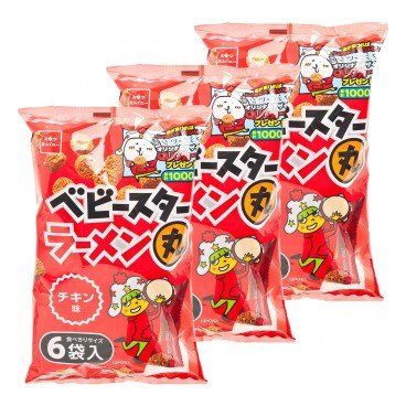BABY STAR - Snack Noodle Balls chicken Soup - 138GX3