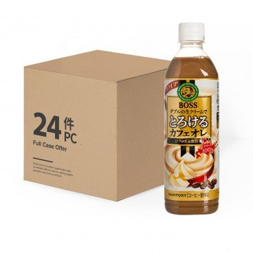 SUNTORY - Boss Cafe Au Lait case Offer - 500MLX24