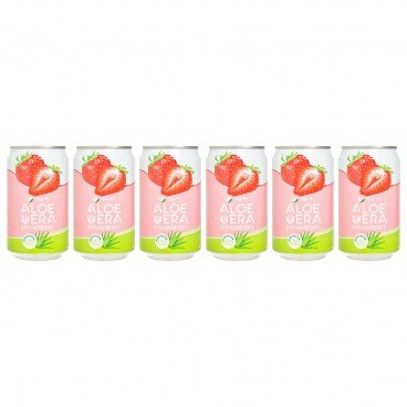 TAO TI - Strawberry Aloe Vera Drink - 310MLX6