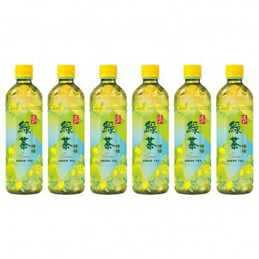 TAO TI - Lemon Green Tea - 500MLX6