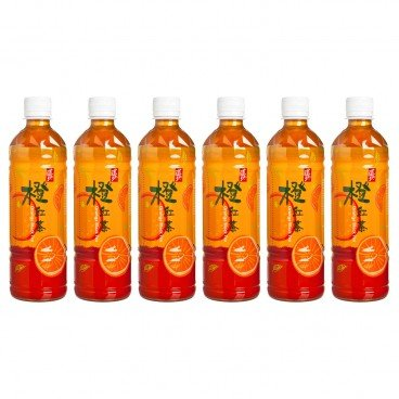 TAO TI - Orange Black Tea - 500MLX6