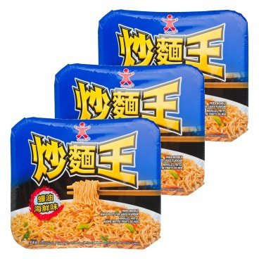 DOLL - Fried Noodle seafood Oyster Sauce - 118GX3