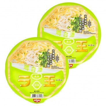 NISSIN - Bowl Noodle raoh rich Chicken Soup Flavor - 96GX2