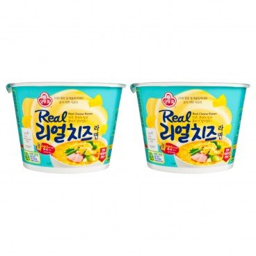 OTTOGI - Real Cheese Cup Noodle - 120GX2