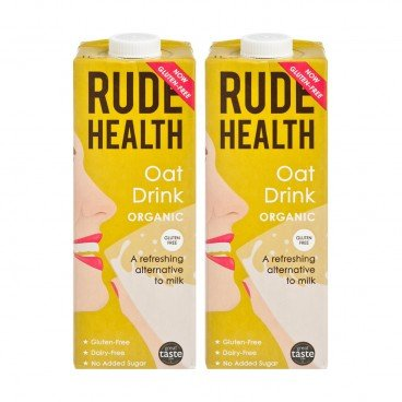 RUDE HEALTH (PARALLEL IMPORT) - Organic Oat Drink - 1LX2