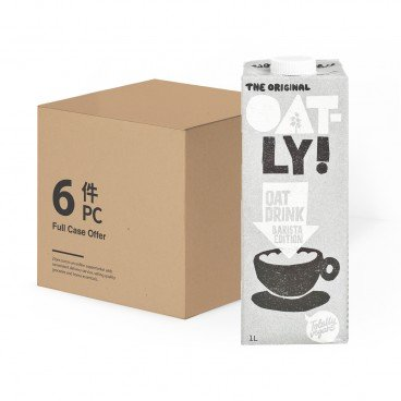 OATLY - Oat Drink barista Edition full Case - 1LX6