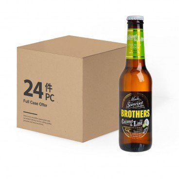 BROTHERS - Cider Coconut Lime Case - 275ML X24