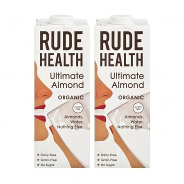 RUDE HEALTH (PARALLEL IMPORT) - Organic Ultimate Almond Drink - 1LX2