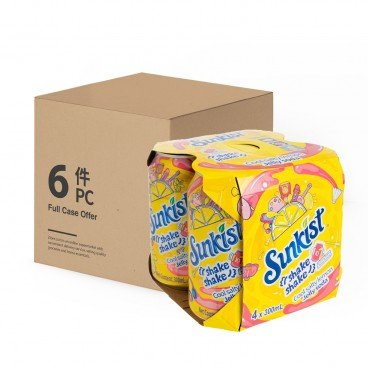 SUNKIST - Salty Lemon Jelly Soda case Offer - 300MLX4X6