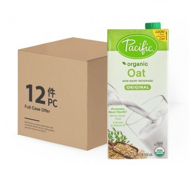 PACIFIC - Organic Oat original case Offer - 32OZX12