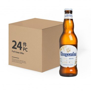 HOEGAARDEN - Wheat Beer Bottle Full Case - 330MLX24