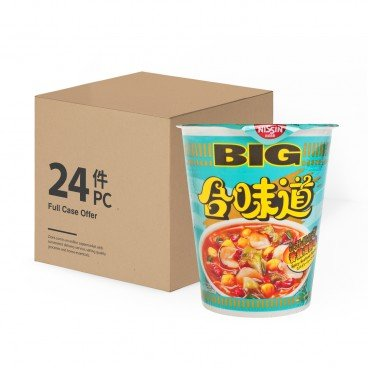 NISSIN Big Cup Noodle spicy Seafood 103GX24
