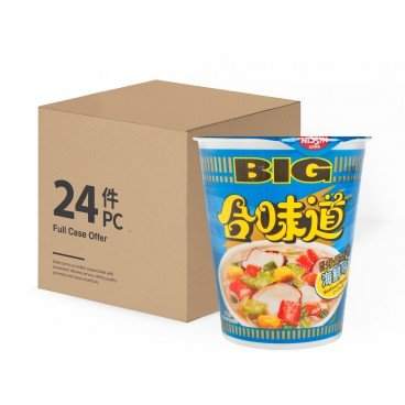 NISSIN Big Cup Noodle seafood 100GX24