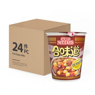 NISSIN - Cup Noodle beef - 75GX24
