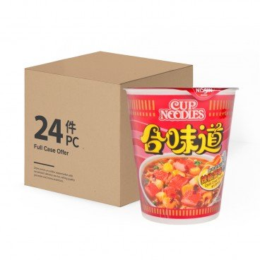 NISSIN Cup Noodle chilli Crab 75GX24