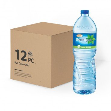 BONAQUA - Mineralized Water - 1.5LX12