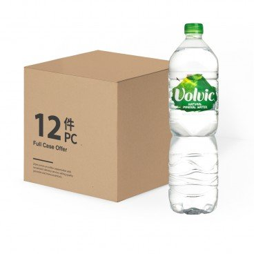 VOLVIC(PARALLEL IMPORT) - Natural Mineral Water - 1.5LX12