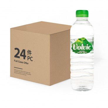 VOLVIC - Natural Mineral Water - 500MLX24