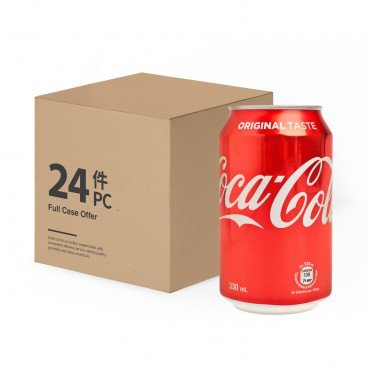 COCA-COLA - Coke Case - 330MLX24