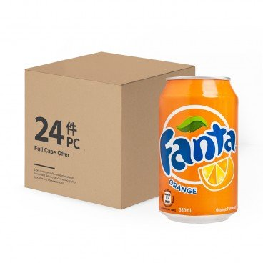 FANTA Orange Drink 330MLX24