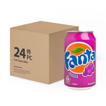 FANTA Grape Drink 330MLX24