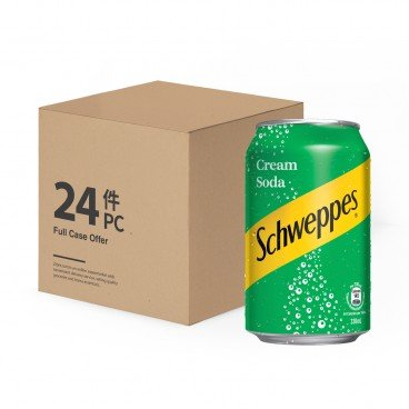 SCHWEPPES Cream Soda 330MLX24
