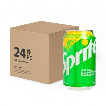 SPRITE - Lemon lime Flavoured Soda - 330MLX24