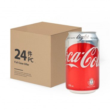 COCA-COLA - Coke Light - 330MLX24