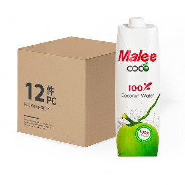 MALEE Coconut Water 1LX12